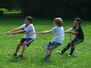 Bewegung macht gemeinsam mehr Spaß!